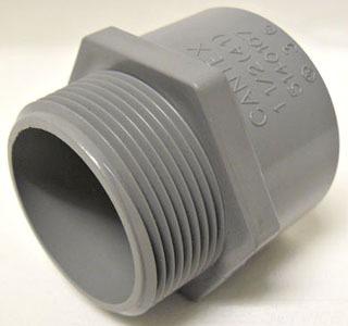 PVC 1-1/4TA TERMINAL ADAPTER