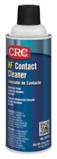 CRC 02125 HF CONTACT CLEANER High Flash Contact Cleaner 16 oz Aerosol