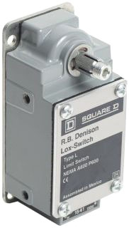 SQD L100WDR2M4 LIMIT SWITCH 600V 10AMP TYPE L +OPTIONS