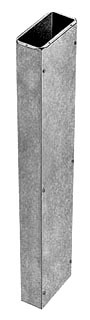 SQD RWT10S60S WALL DUCT 5FT STRAIGH