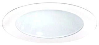NOR NL-416 4-INLV WHITE REFLECTOR & RING