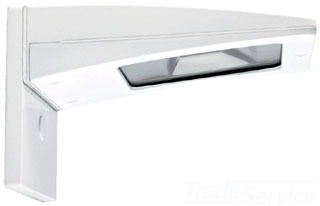 RAB-WPLED10SW/PC LPACK LED WALLPACK 10W COOL SURFACE PLACE 120V PC WHITE