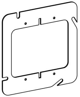 ORBT 52000 5S 2-G FLAT STEEL DEVICE RING