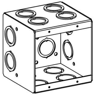 ORBT MB-2 2-G MASONRY BOX 3-1/2IN DEEP