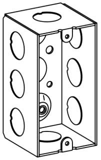 ORBT HDB-1-50 1-G HANDY BOX 2-1/8IN DEEP 1/2IN