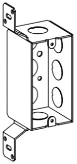 ORBT HDB-1-50-FB 1-G HANDY BOX + BRACKET 2-1/8IN DEEP 1/2IN