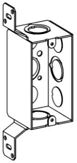 ORBT HDB-1-MKO-FB 1-G HANDY BOX + BRACKET 2-1/8IN DEEP MKO