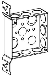 ORBT 4SB-MKO-FB 4S BOX 1-1/2IN DEEP + BRACKET MKO