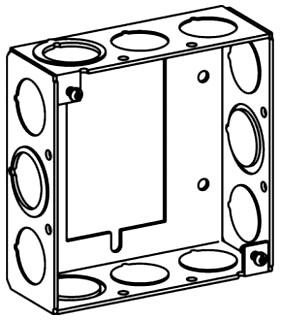 ORBT 4SB-MKO-EHB 4S EXT. TO HANDY BOX 1-1/2IN DEEP MKO