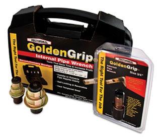 """97250 1/2"""" RECTORSEAL GOLDEN GRIP INTERNAL PIPE WRENCH"""