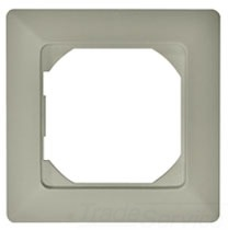 BEZ-72U UWZ 48 BEZEL, 72 X 72MM, GRAY