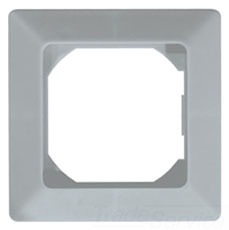 BEZ-72PU UWZ 48 BEZEL W/PINS, 72 X 72MM, GRAY