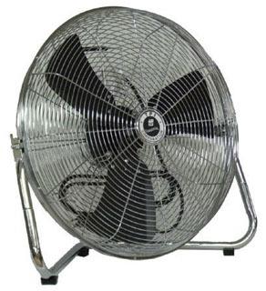 "TPI CF18 18"" Portable Floor Fan 1/5HP 3 Speed 3150/2700/2550 CFM 1 Yr Warranty"