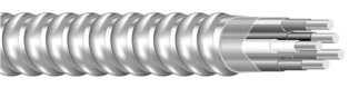 "MC12/2-""ISOL GRND"" Armorlite MC CABLE BLK-WHT-GRN-GRNw/YEL STRIPE (250FT coil) (69596501)"