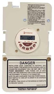 P7103ME 7 DAY SINGLE CIRCUIT POOL CONTROL MECHANISM (30A, 3HP, DUAL VOLTAGE)