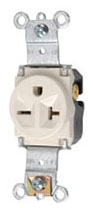 5871LA SINGLE RECEPTACLE 20A/250V