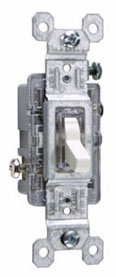 660LASLG 1P LIGHTED TOGGL SWITCH 15A 120V