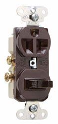 671 COMBO 20A 1SWITCH 1P-20A 1RECP-120V