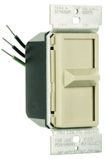 90681GRY SLIDE DIMMER 1POLE 600W FULL RANGE