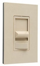 91080I DIMMER SLIDE 1000W PRE-SET 1POLE IVORY