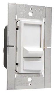 91180-W 1000W 1-POLE WHITE PRE-SET SLIDE DIMMER