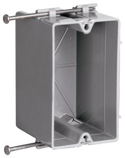 P&S S1-18-R 1G PLSTC OUTLET BOX