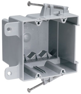 P&S S2-35-RAC 2G PLSTC OUTLT BOX