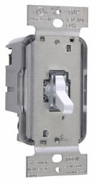 T1003LW TOGGLE DIMMER 1000W/3W LIGHTED WH