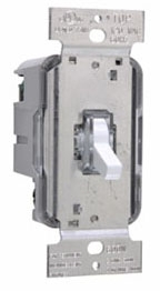 T603LLAV TOGGLE DIMMER 600W 3W LIGHTED LA CLAM