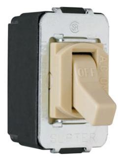 (P&S) ACD1I 15A 120/277V IVORY DESPARD TOGGLE SWITCH SCREW TERMINAL