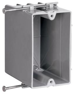 P&S P1-22-R 1G PLSTC OUTLET BOX