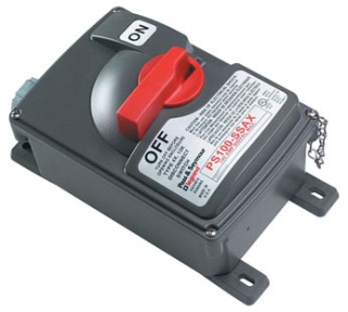 PS100SS 100A 600VAC NON FUSIBLE SAFETY SWITCH