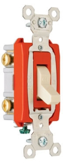 (P&S) 20AC2I 20A 120/277V IVORY INDUSTRIAL EXTRA HEAVY-DUTY SPECIFICATION GRADE SWITCH
