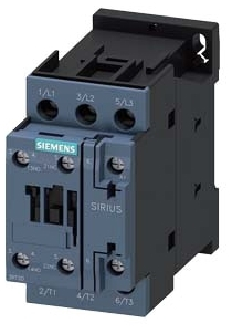 ITE 3RT2025-1AK60 16AMP CONTACTOR SZ S0 SCREW TERMINAL 120V COIL