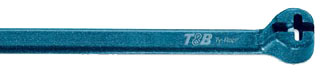 T&B TY528M-NDT 14IN NYLON BLUE CABLE TIE 50LB