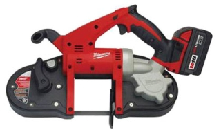 MIL 2629-22 (PROMO) M18 Cordless Compact Band Saw Kit with TWO 18V Batteries 3-1/4in Cut Capacity (cuts up to 2-1/2in conduit) RECEIVE (1) FREE M18 XC5.0AH BATTERY (48-11-1850)