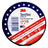 "3M 1776 3/4"" X 60' VINYL ELECTRICAL TAPE 7010398066"