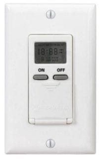 EI500WC DIGITAL 7-DAY TIMER 15 AMP 120 VAC WHITE