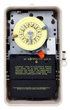 T104P201 NEMA 3R BEIGE PLASTIC CASE 208-277 V DPST W/SPDT HEATER CUTOFF SWITCH