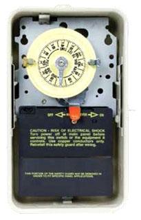 T104R3 NEMA 3R - STEEL CASE 208-277 V DPST BEIGE CASE
