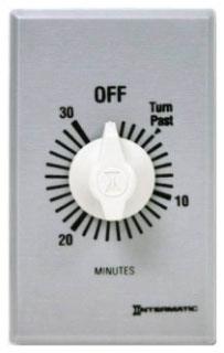 FF30M10 MECHANISM ONLY WIHT KNOB (NO PLATE) 30-MINUTE 125V-277V SINGLE POLE SINGLE THROW (SPST)
