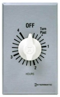 FF4H INTERMATIC 4HR COMMERCIAL SPRING WOUND TIMER,SPST