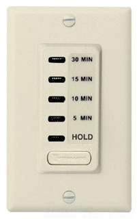 EI200 ELECTRONIC AUTO-OFF TIMER 5/10/15/30 MINUTE WITH HOLD IVORY