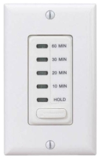 EI210W ELECTRONIC AUTO-OFF TIMER 10/20/30/60 MINUTE WITH HOLD WHITE