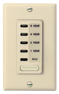 EI220 ELECTRONIC AUTO-OFF TIMER 1/2/4/8 HOUR WITH HOLD IVORY