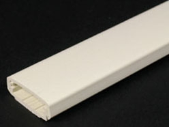 W-MOLD 800BAC-WH 800 RACEWAY BASE AND COVER NON-METALLIC WHITE 1-5/16 x 7/16 in.
