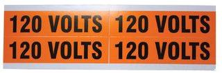 IDEAL 44-353 120V COND MARKER CARD 4/CARD