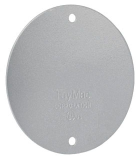 TAY BC300S TAY ROUND BLANK COVER GRAY