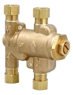 "0204143 3/8"" COMP OR QUICK CONN LF-USG-BM2 UNDER SINK THERMOSATIC MIXING CHECK VALVE WATTS"