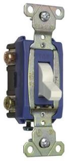 PS371530W 15A 347VAC B&S WIRE CANADA 3W SWITCH